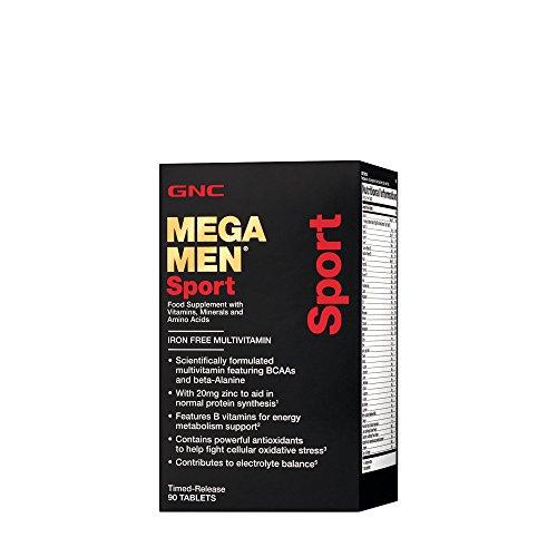 Gnc Mega hombres deporte
