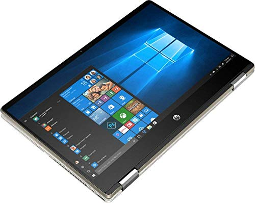 "HP Pavilion x360, 14"" Full HD IPS Touchscreen 2 in 1 Laptop, Intel 4-Core i5-8265U (>i5-8250U), 16GB RAM, 512GB PCIe SSD, 802.11ac Bluetooth 4.2 Backlit Keyboard Fingerprint Reader USB-C HDMI Win 10"