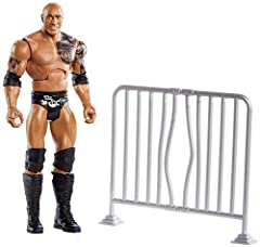 Get ready for the ultimate wreck-a-thon with WWE Wrekkin' action figures! Approximately 6-inches in size, each Wrekkin' action figure has a distinct action move like slamming, punching or kicking that is activated by pull-back motion Each action figu...