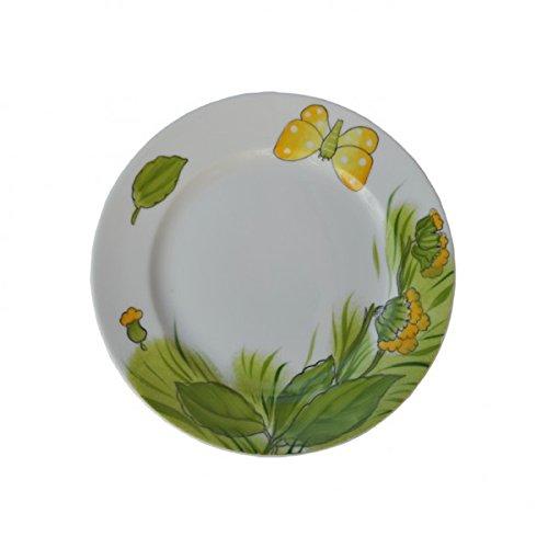 Helina Tilk Clé Fleurs Assiettes 19 cm Porcelaine Peint à la main