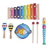 Boxiki kids Musical Instruments Set | Music Toys for Toddlers | Toddler Instruments for Ages 1+