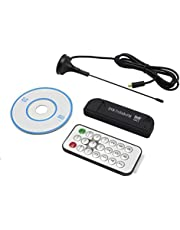 Mini USB Digital Portátil 2.0 Stick De TV DVB-T + DAB + FM + RTL2832U R820T2 Soporte SDR Del Sintonizador Receptor - STRIR FC0013