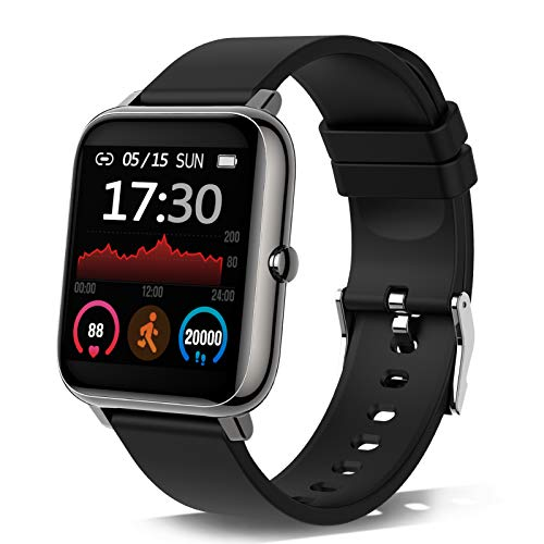 Smartwatch, Orologio Fitness Tracker Uomo Donna Smart Watch Sonno Cardiofrequenzimetro, Sportivo...
