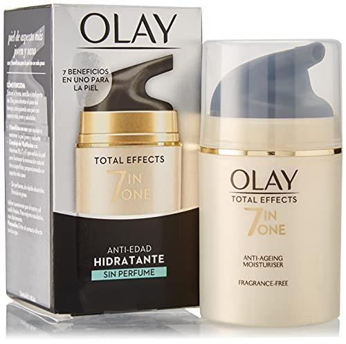 OLAY Total effects 7 en 1 crema hidratante sin perfume caja 50 ml