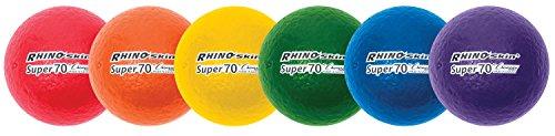 Champion Sports Super 70 Rhino Skin Ball Set - 2.75-Inch