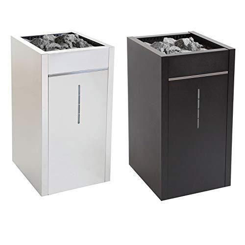 Harvia Virta Combi - Estufa para sauna (10,8 kW, color negro, automático)