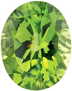 Mysticdrop Natural Oval AAA Peridot Loose Gemstone Available from 6x4mm - 14x10mm
