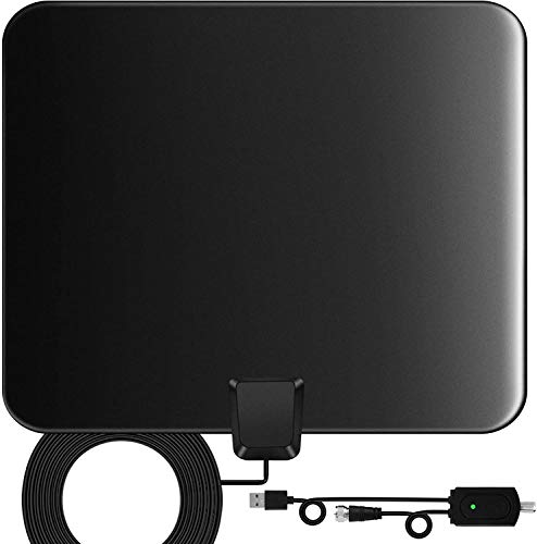 TV Aerial 2020 Newest Indoor TV Antennas For Digital Freeview, 60 Miles+...