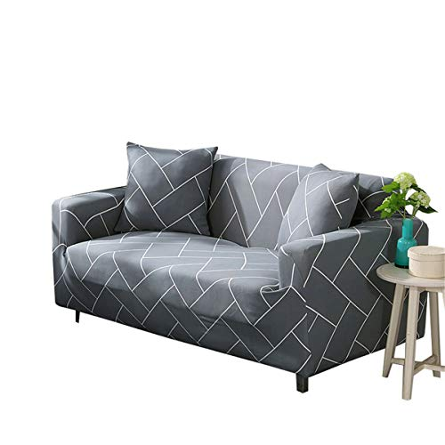 Yunchengyunxiangtong Stretch Couch Universal-Sofa-Abdeckung Full Cover Slip Cover Nordic Einfach Stretch All-Inclusive-Sofa-Abdeckung (Size : Triple)
