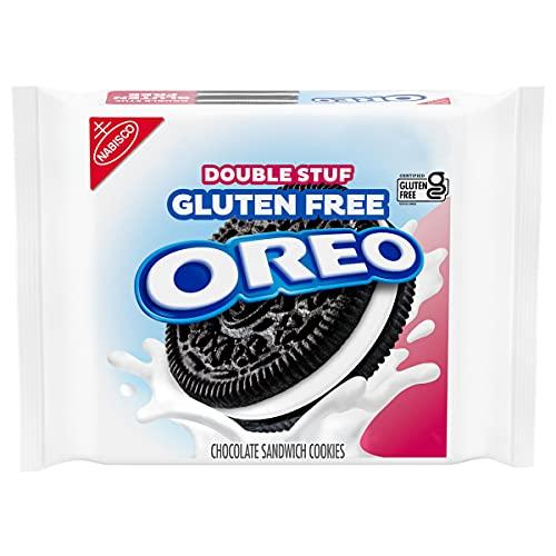 Oreo Double Stuf Gluten Free Sandwich Cookies 14.03 oz, Chocolate, 1 Count