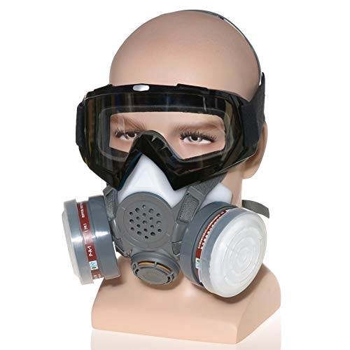 HXMY Industrial Gas Chemical Anti-Dust Spray Paint Polishing Sandblasting...