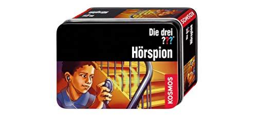 KOSMOS 631222 - Die drei ??? Hörspion, Detektiv-Spielzeug, Agenten-Ausrüstung für Kinder ab 8 Jahre
