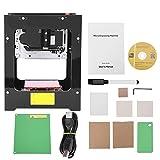 【𝐏𝐫𝐨𝐦𝐨𝐜𝐢ó𝐧 𝐝𝐞 𝐒𝐞𝐦𝐚𝐧𝐚 𝐒𝐚𝐧𝐭𝐚】 Máquina de grabado láser, impresora de grabado láser de alta resolución de 550 * 550 píxeles para PC Pad Phone, para el marcado de artesanía de talla D