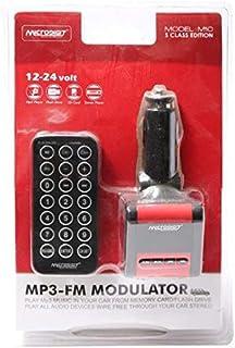Modulator Car MP3 , FM  Player  Remote Control - Black color