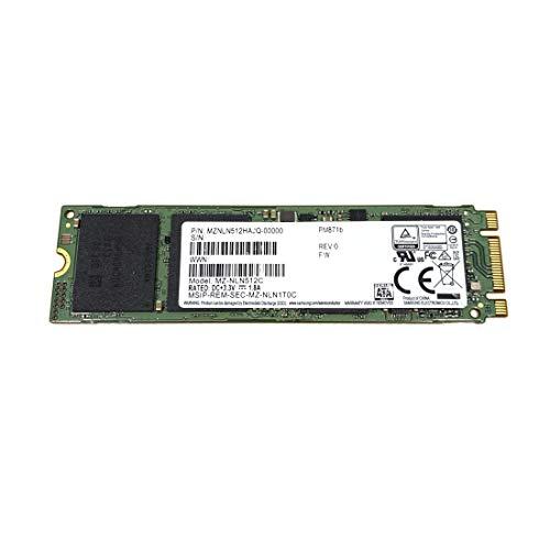Samsung SSD 512GB PM871b M.2 2280 SATA 6Gb/s MZNLN512HAJQ MZ-NLN512C kompatibel zu Dell HP Lenovo Acer Asus