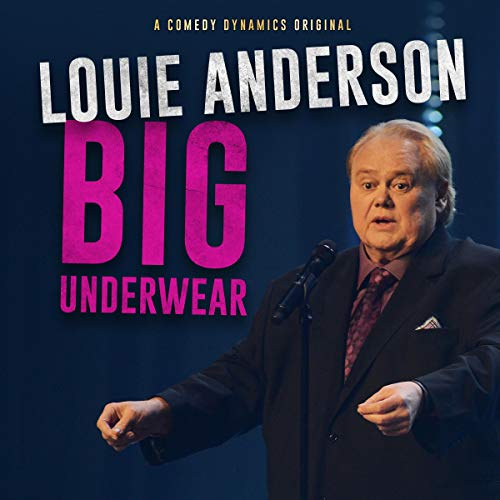Louie Anderson audiobook cover art