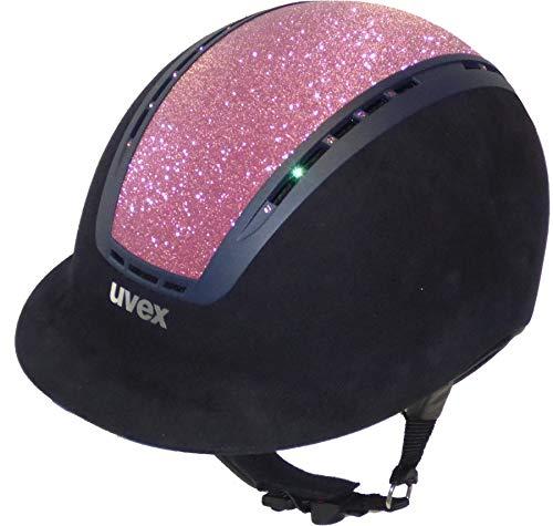 Uvex Suxxeed Glamour pink in black oder blue, Helm Größe:55-56, Helm Farbe:black