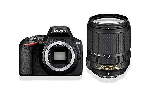 Nikon D3500 Fotocamera Reflex Digitale con Obiettivo Nikkor AF-S 18/140VR, 24.2 Megapixel, LCD 3