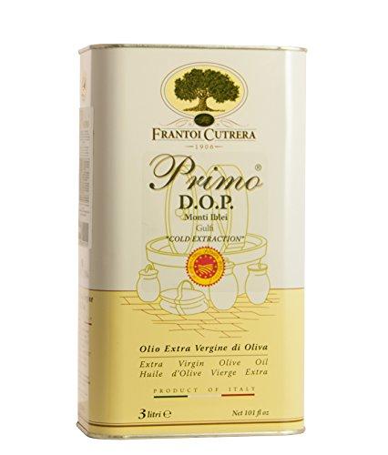 Frantoi Cutrera - PRIMO DOP - Olivenöl Extra Vergine - 3 LT