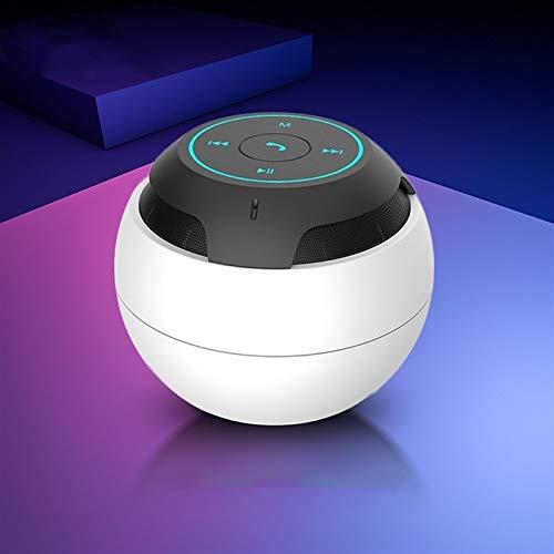 XKstyle Altavoces, Sonido Envolvente estéreo estéreo 3D inalámbrico portátil Mini Altavoz (Color : B)