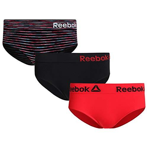 Reebok Women?s Underwear ? Seamless Hipster Briefs...