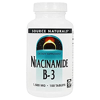 Source Naturals Niacinamide, 1500mg, 100-Count