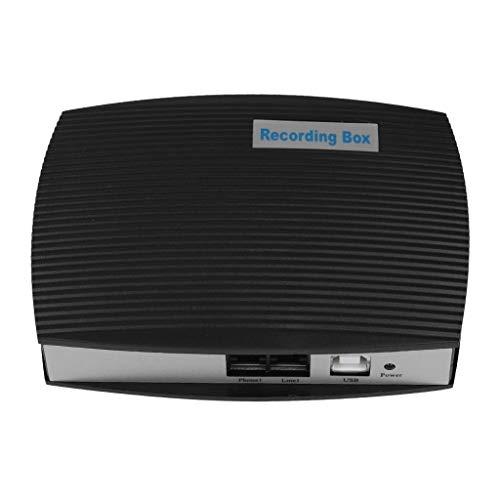 Llamadas telefónicas Grabadora de Voz, Caja de grabación de teléfono de 1 Canal Monitores de línea Fija Sistema de grabación de teléfono Trabaja con Windows 7 / XP/Vista / 2000/2003 para administrar