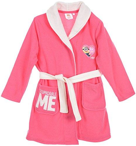 Minions Ich einfach Unverbesserlich Bademantel Pink 104 ( 4 Jahre)
