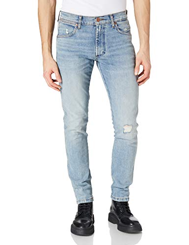Wrangler Larston Jeans, Dusty Light, 30W x 34L Uomo