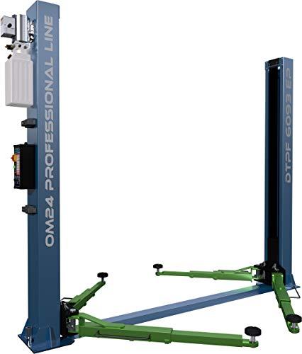 OnlineMoto24 2-Säulen Hebebühne DTPF 6093 EP 4.0T - 230 Volt - Werkstatt-Ausrüstung - Hebevorrichtung - Arbeitsbühne - Wagenheber - Modell 2021