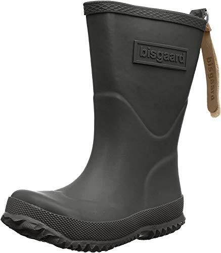 Bisgaard Unisex-Kinder Rubber Boot Basic Gummistiefel, Schwarz (50 black), 27 EU
