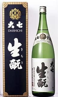 大七酒造 福島県 本醸造 「大七生元」 1.8L