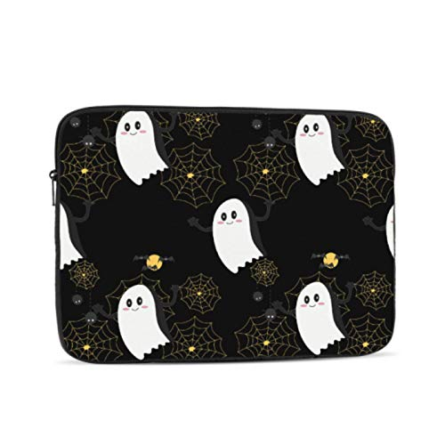 Mac Laptop Cover Cool Halloween Creep Fun Ghost MacBook 15 Case Multi-Color & Size Choices 10/12/13/15/17 Inch Computer Tablet Briefcase Carrying Bag