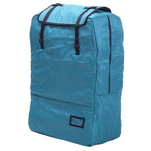 Outdoor Trolley Bag, Flugzeug überprüft Schatz Camp Car Baby Twin Kinderwagen Tasche (Farbe : Green, Stil : Package)