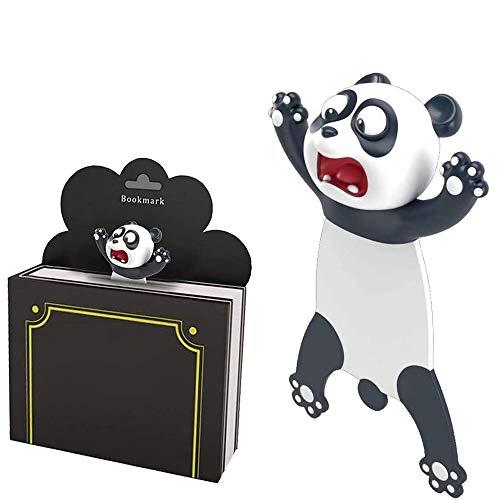 3D Cartoon Tier-Lesezeichen,3D Cartoon Bookmarks,Tier Lesezeichen Kinder 3D,Cartoon Schön Tier Lesezeichen,Lesezeichen Kinder,Lesezeichen (Panda)