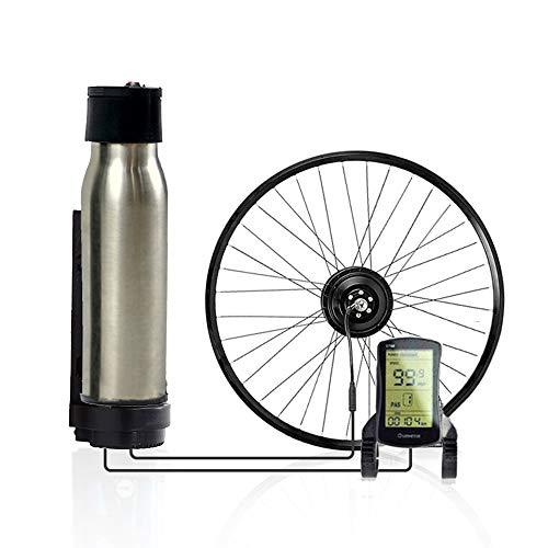 CARACHOME Smart ebike nachrüstsatz, 36V / 350W Hochwertiges Electric Bike Conversion Kit mit Batterie, für MTB & Rennrad,D,Cassette 700C