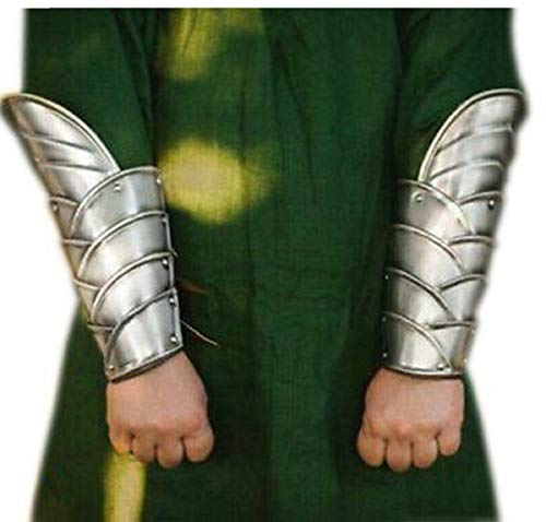 Medieval Par De Brazaletes Elven Armor Para Fantasía Cosplay Ropa Larp
