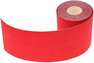 CONGGE Kinesiology Tape, Waterproof Physio Tape for Pain Release, Muscle and Joints Support 3 Inch x 16 Foot (Red)