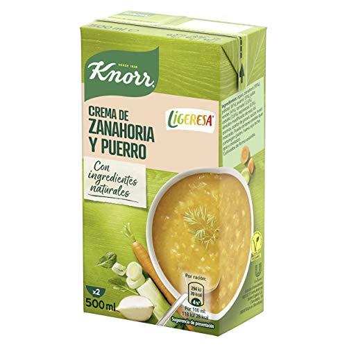Knorr Las Clásicas Crema Ligeresa Zanahoria y Puerro - Pack