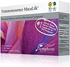 Femmenessence MacaLife - All Natural Maca Root Supplement - Support Women's Hormone Balance and Perimenopause Symptoms (120)