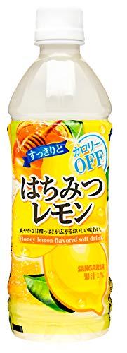 サンガリア すっきりはちみつレモン 500ml×24本