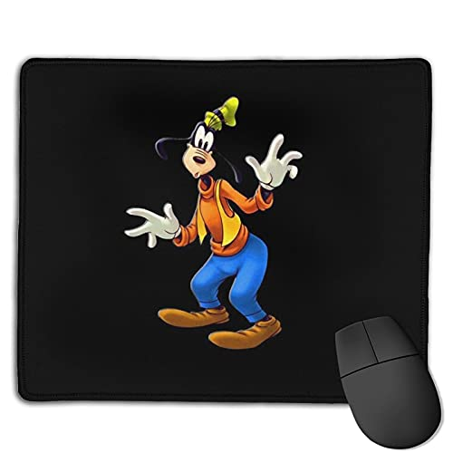Funny Goofy Gaming Mousepad Custom Anti-Slip Mouse Pad Mat,Mouse Pad with Stitched Edge for Office Computers Laptop Mouse 8.6x7inch