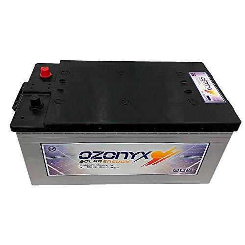 WccSolar Batería Solar 12v Ciclo Profundo sellada 250Ah Solar Fotovoltaica