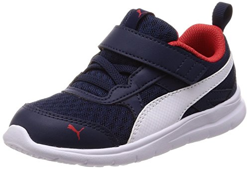 Puma Scarpe Baby Sneakers Flex Essential in Tela Blu 190684-02