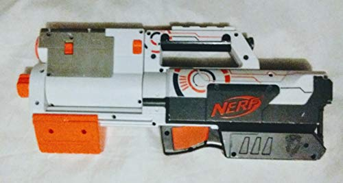 NERF N-STRIKE WHITEOUT Series DEPLOY CS-6 Blaster!