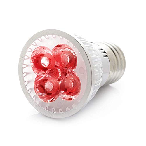 RubyLux 2nd Generation All Red LED Bulb Size Small