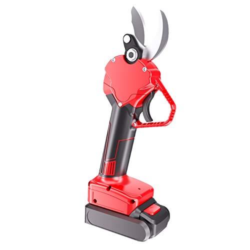 REWD 30mm podadora eléctrica sin Cuerda jardinería Tijeras de podar del jardín Lopper Ajustables Horas Cuchillo 6-8 Trabajo ergonómicamente