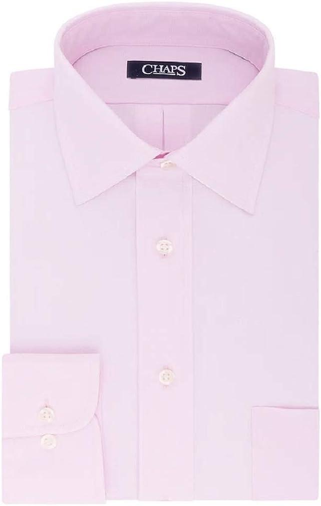 Chaps Men's Ultimate Cotton Regular-Fit No-Iron Stretch Dress Shirt