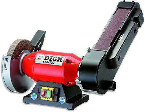 Dick Bandschleifmaschine SM - 100 Schleifen alle Messerarten (auch Kreismesser) mit Polierfunktion