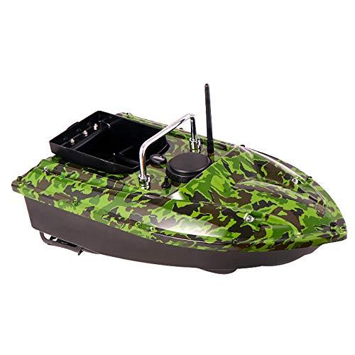 TFCFL Barco de pesca inteligente, 500 m, buscador de gran capacidad, el barco RC Boots rápido doble motor carga